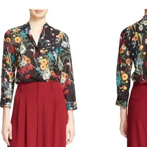 Eloise ALICE +OLIVIA floral blouse. Rare pattern